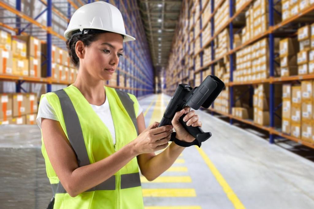 RFID w magazynie wysokiego składowania