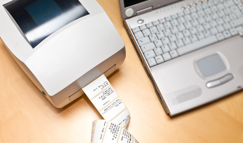 Poręczna drukarka etykiet